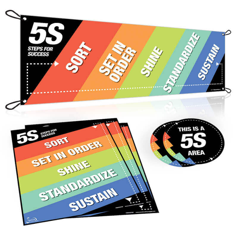 5S Steps Awareness Package