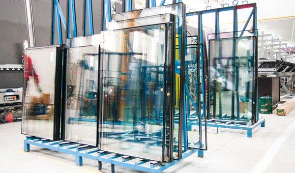 Glass window factory