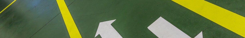 Warehouse floor tape