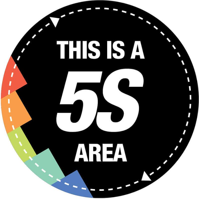 5S Floor Sign
