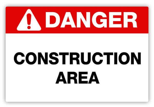 Safety Label, Demolition Safety