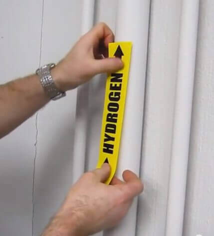 Pipe Marking, Pipe Labels