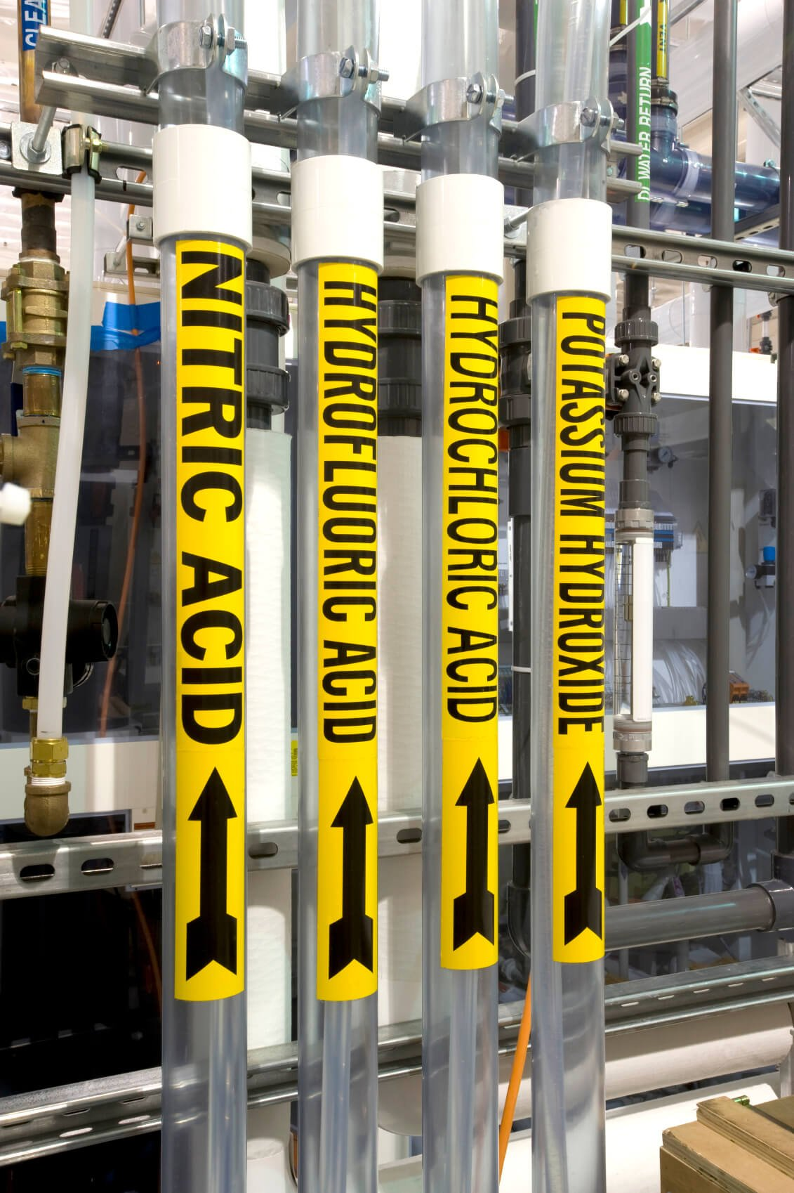 Creating Pipe Marking Labels