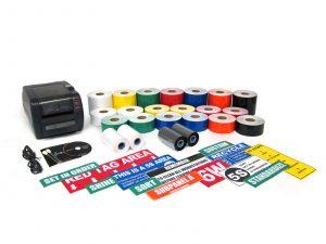 LabelTac Industrial label maker package