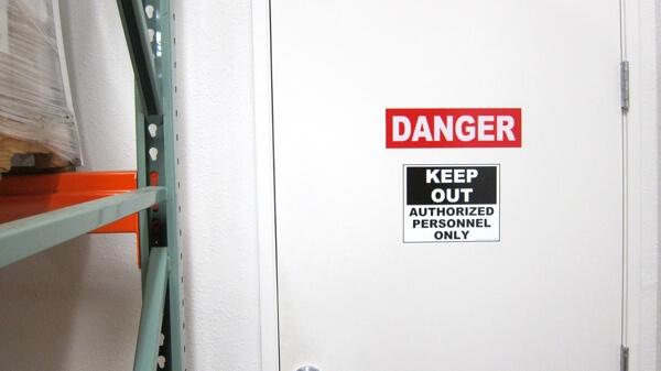 safety sign, danger sign