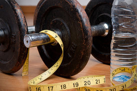 Stop obesity with exercise and healthy diet