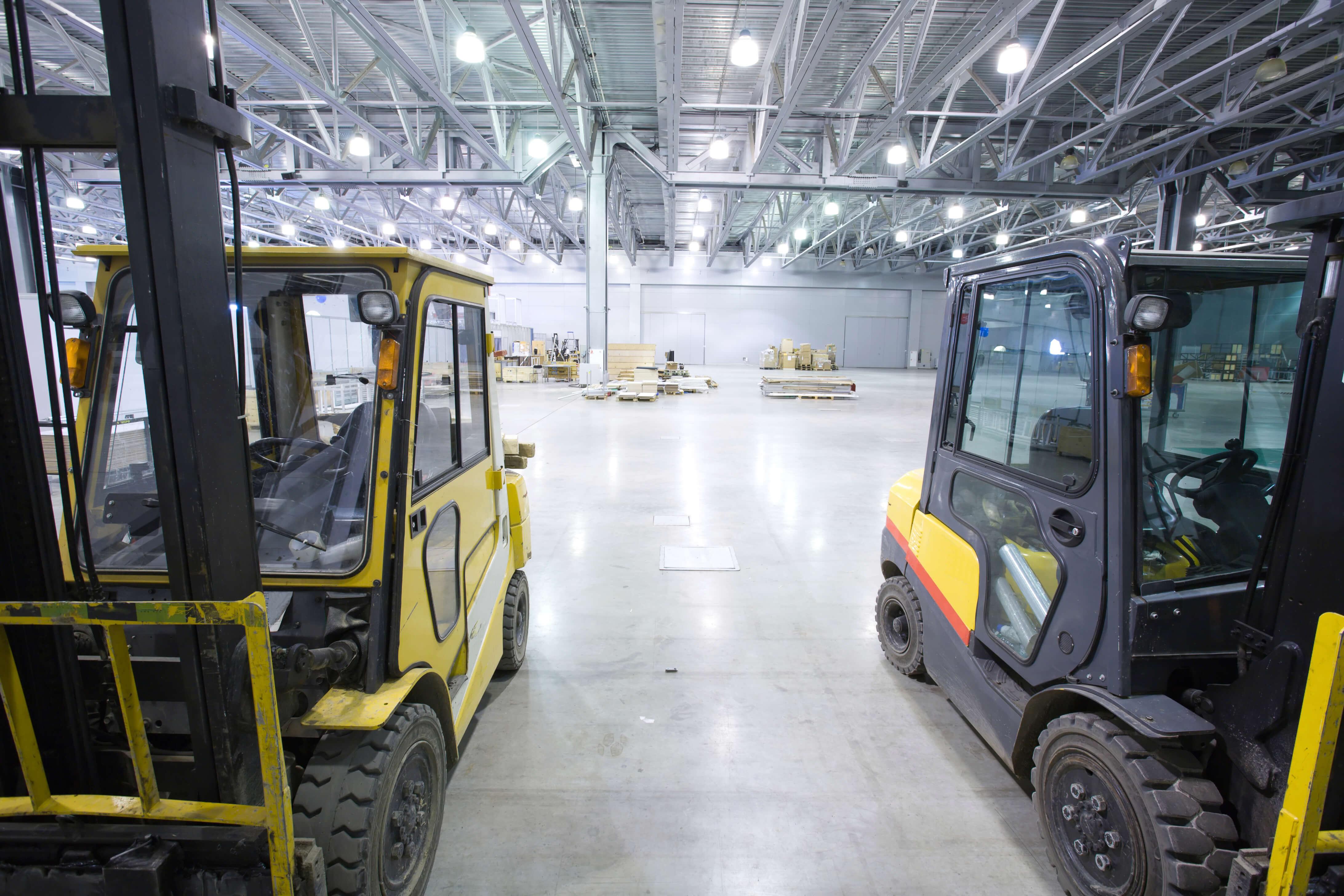 Safety Forklift Loading