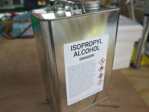 ghs classification for isopropyl alcohol