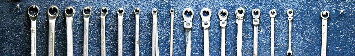 Organized Wrenches