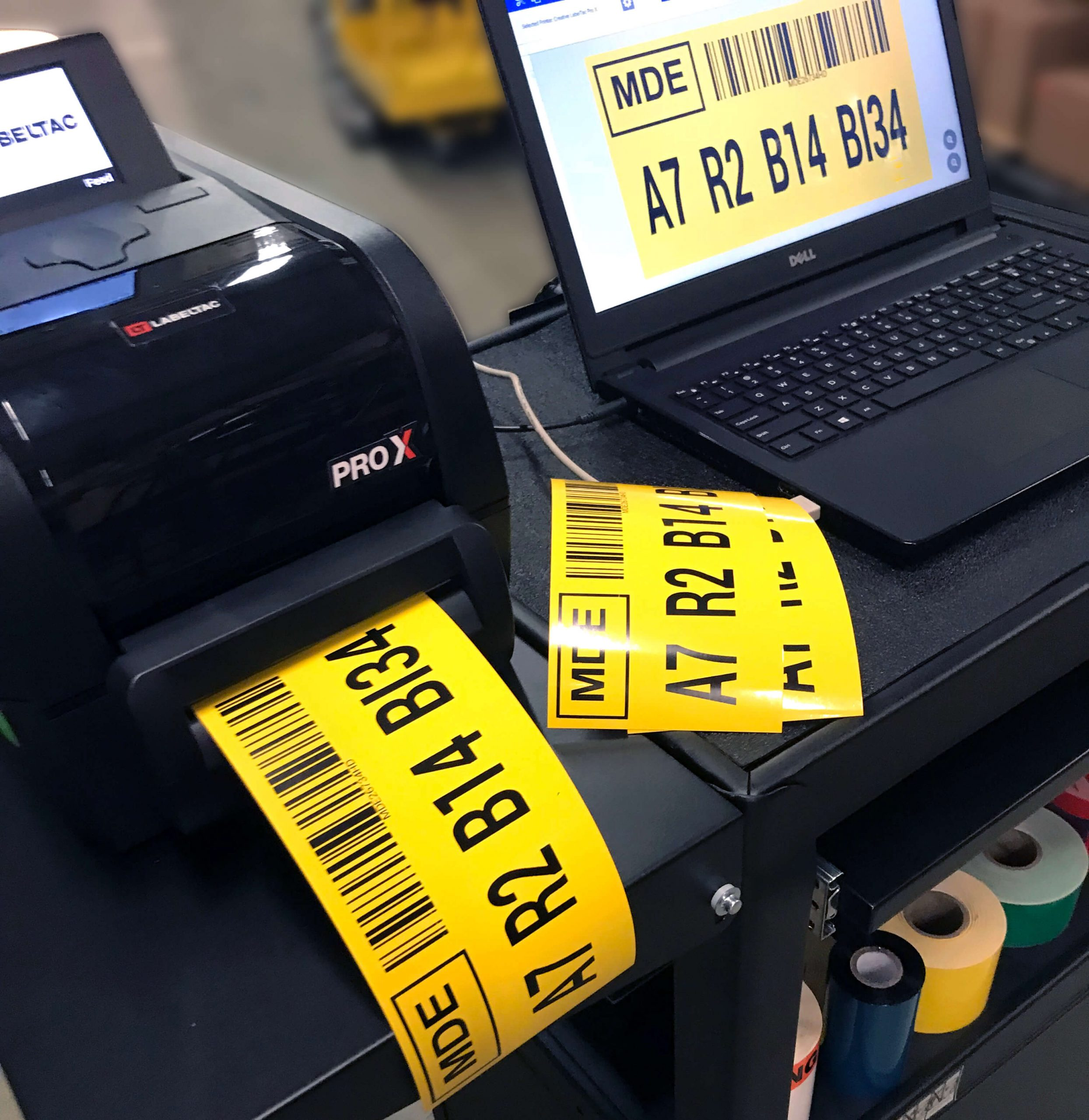 barcode labels and barcoding