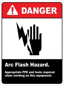 hazard sign, safety sign