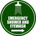 safety sign, emergency equipment