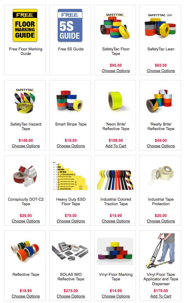 Lean Supplies for Lean Marking