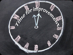 Time for improvement