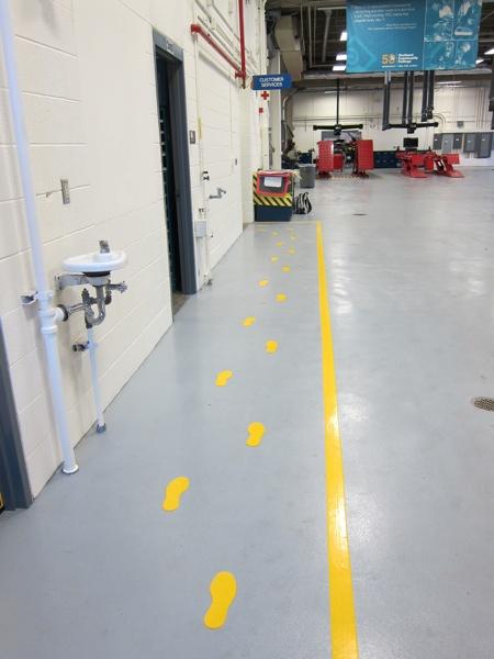 SafetyTac, Footprints