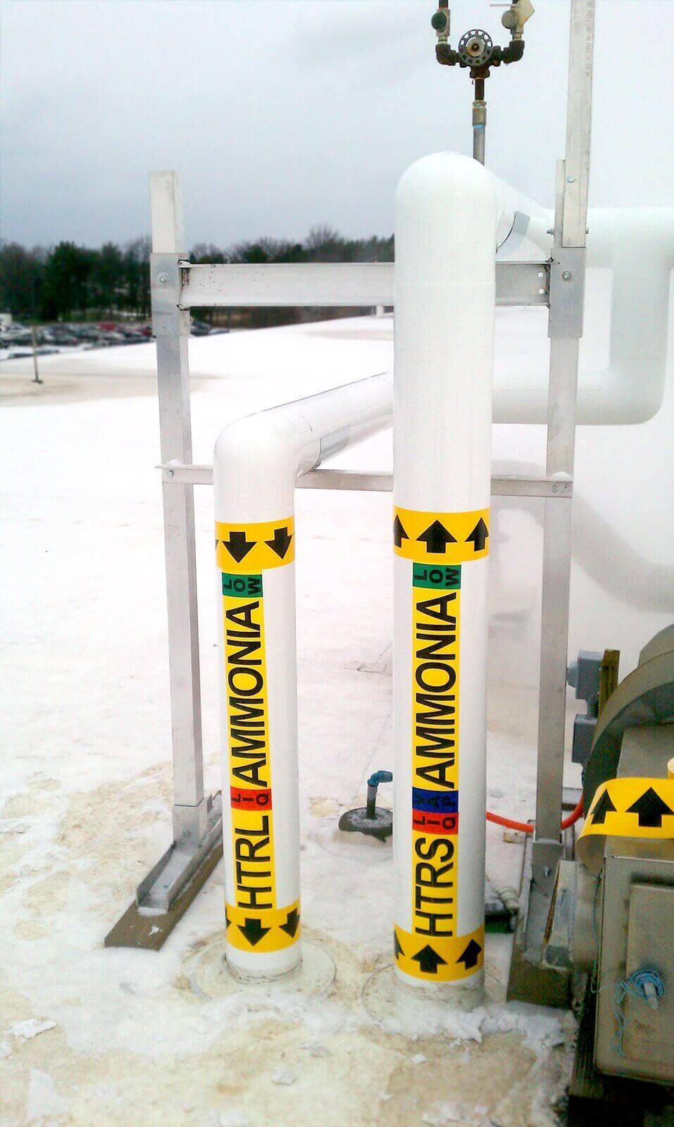 Anhydrous Ammonia Refrigerant Safety