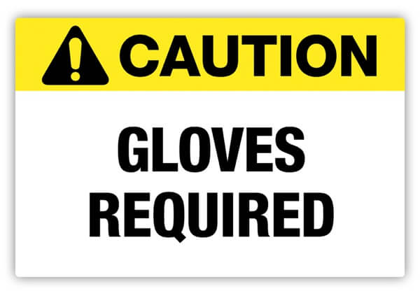safety signs, safety labels, PPE