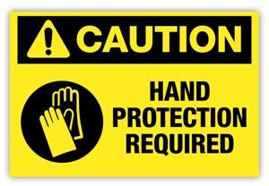 hand safety, cement, gloves