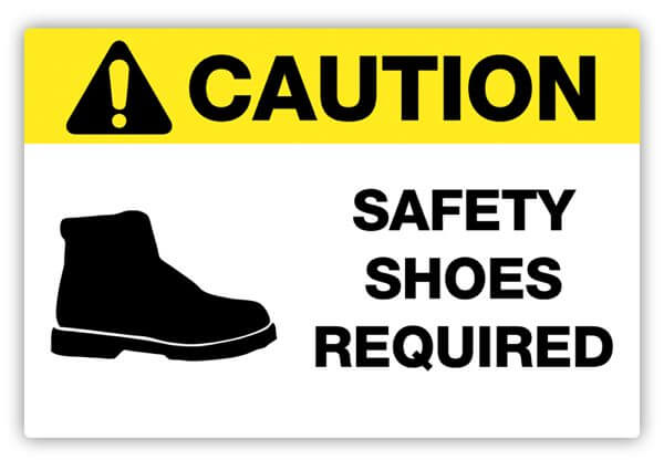 Safety Label, PPE