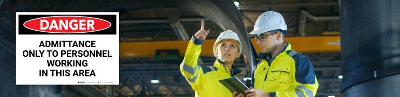 OSHA Compliant Safety Sign