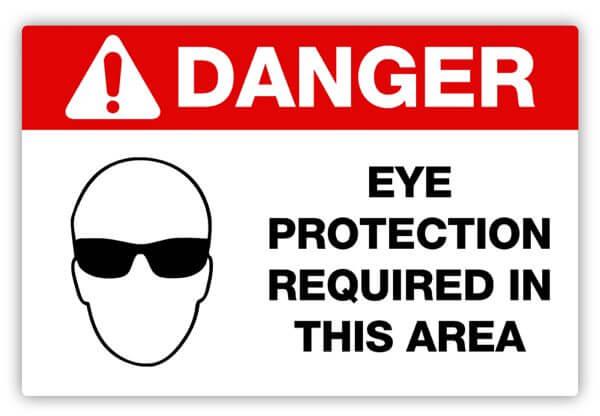 Safety Glasses, Safety Label