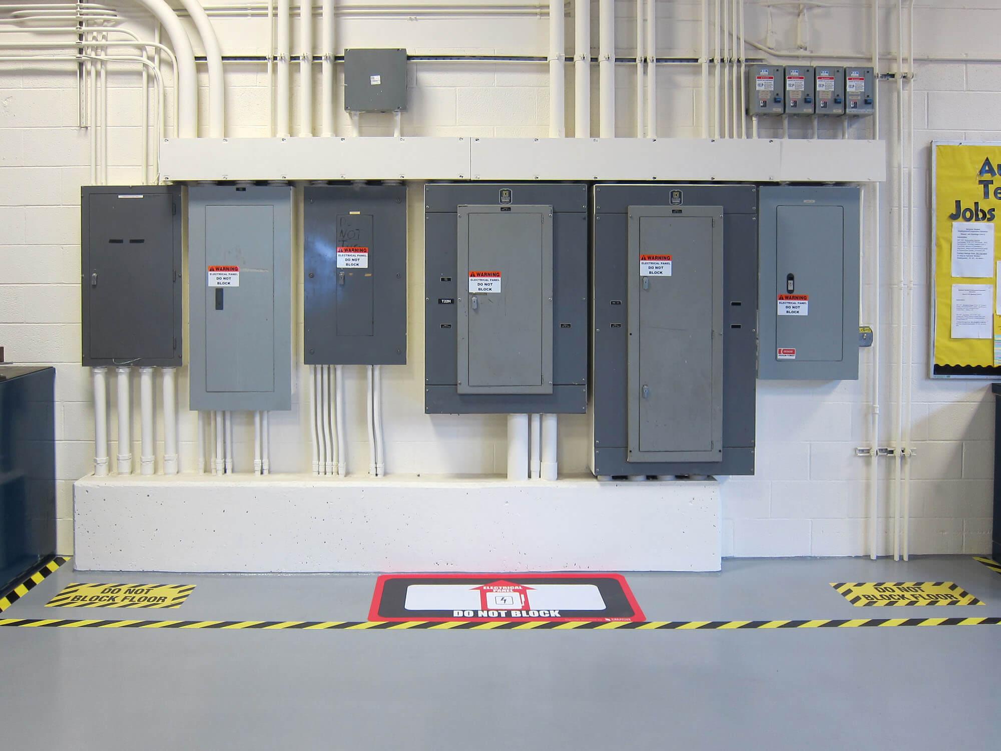 Safety Floor Markings
