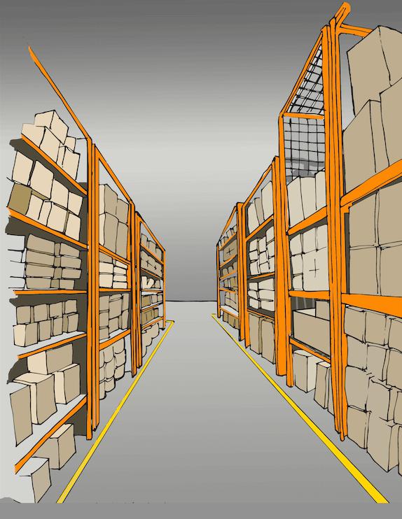 Floor Marking Tape for Aisles
