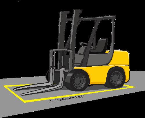 Floor Marking Tape Forklift Safety