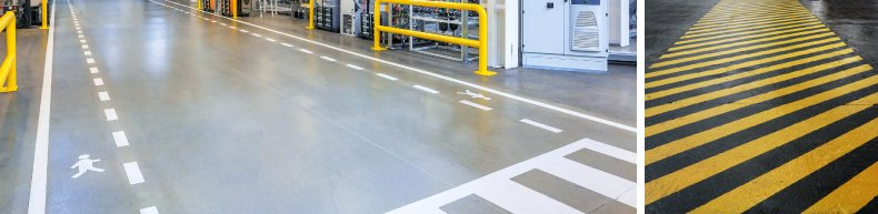 Floor Marking for Safety