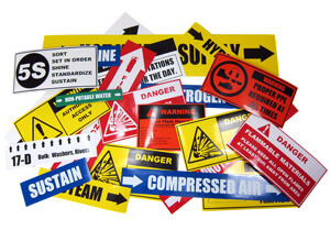 safety labels, workplace labels