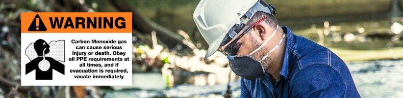 Carbon Monoxide Wear PPE