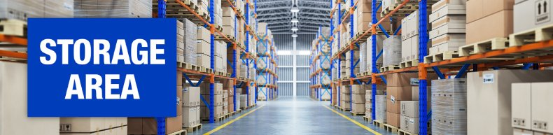 Storage Area Labeling