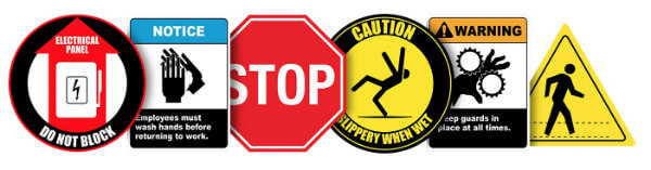 safety signs, Creative Safety Supply