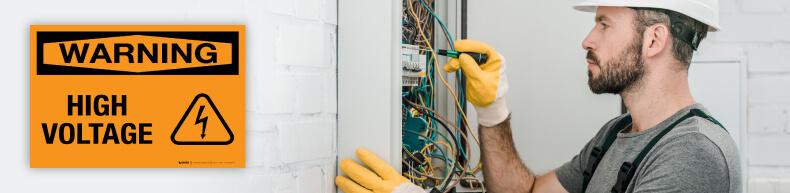 Warning Electrical Safety