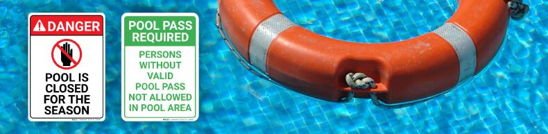 Swimming Pool Warning Signs