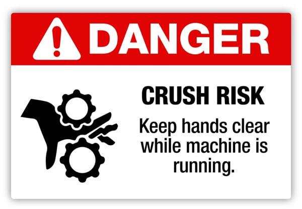 safety label, hazard label