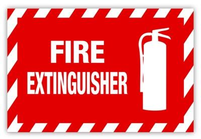 Safety Label, Fire Safety