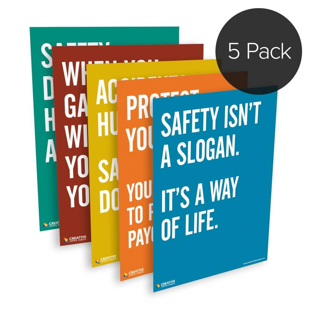Safety Quote Series Posters
