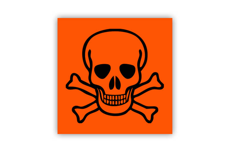Toxic Label