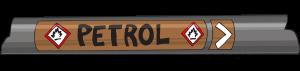 Pipe Marking Flow Petro