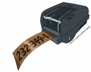 Industrial Label Maker for Pipe Marking
